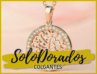 COLGANTES DORADOS