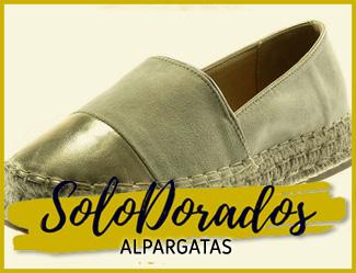 ALPARGATAS DORADAS