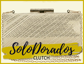 clutch dorados