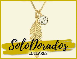 collares dorados