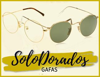 gafas doradas