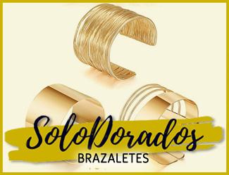 Brazaletes Dorados