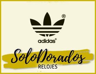 Relojes Adidas Dorados