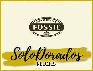 Relojes Fossil Dorados