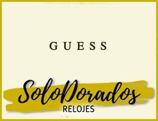 Relojes Guess Dorados