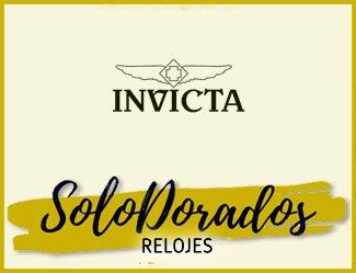 Relojes Invicta Dorados