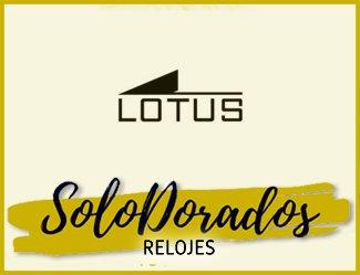 Relojes Lotus Dorados
