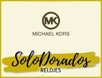Relojes Dorados Michael Kors