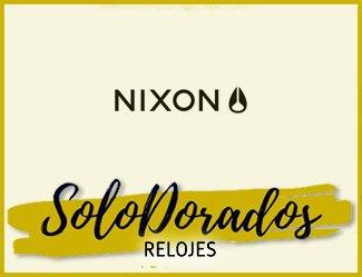 Relojes Nixon Dorados