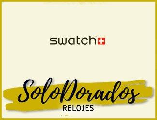 Relojes Swatch Dorados